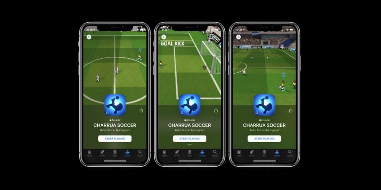 Five Apple Arcade sports games to pass the time