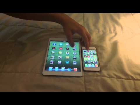 Five-finger gestures return to the first-generation iPad with iOS 5.0.1