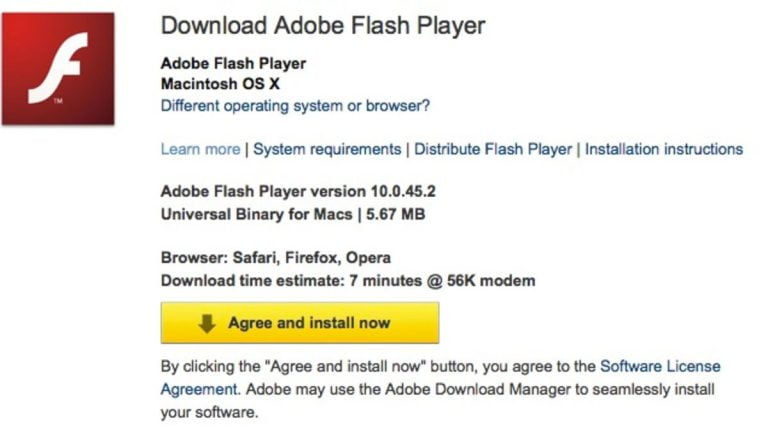 Flash Player 10.1 now available… without hardware acceleration on Mac OS X