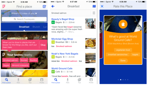 Foursquare lands on the iPad with recommendations of the most popular places