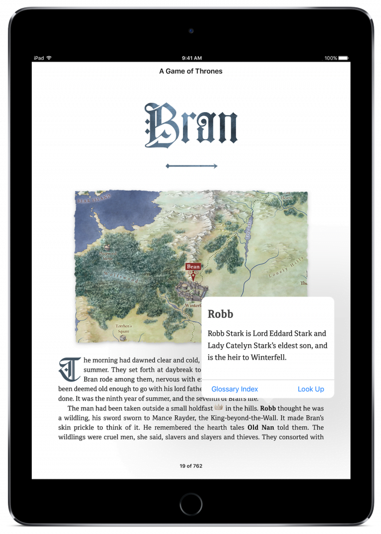 Game of Thrones exclusive edition awaits you on iBooks