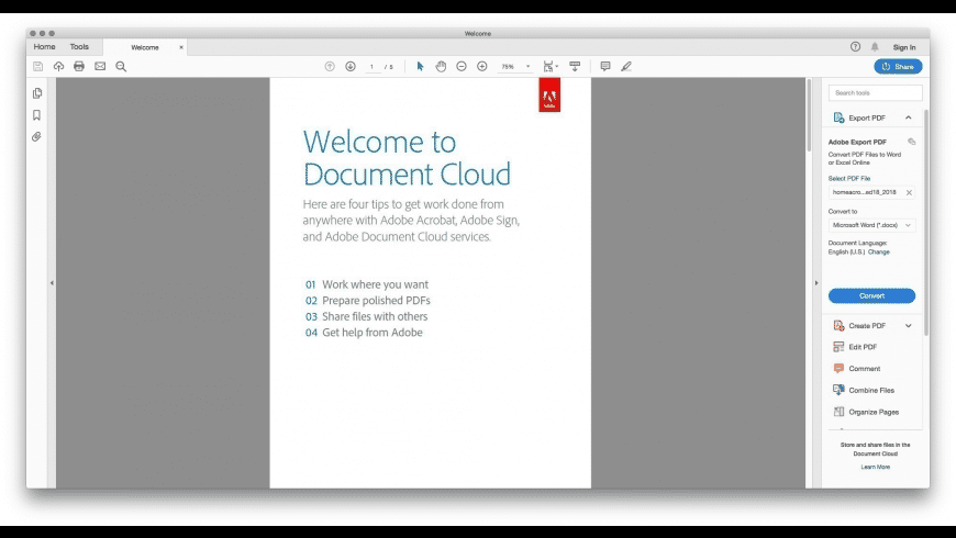Generate PDF documents from any file on your Mac