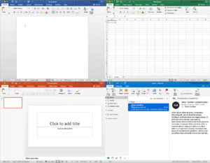 go from file manager to office suite