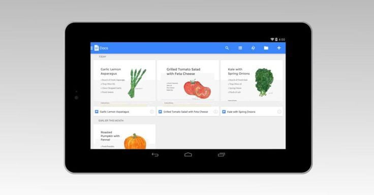 Google Launches Google Docs and Sheets for iPad, iPhone and Android