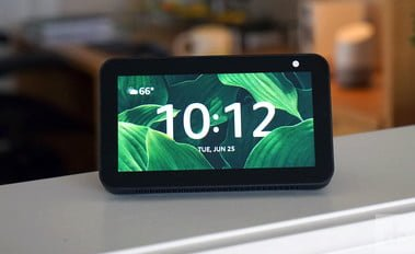great discount on the intelligent display with camera and Alexa