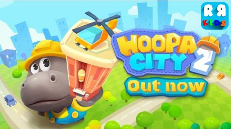 Hoopa City, a SimCity for Kids.design the perfect city on your iPad