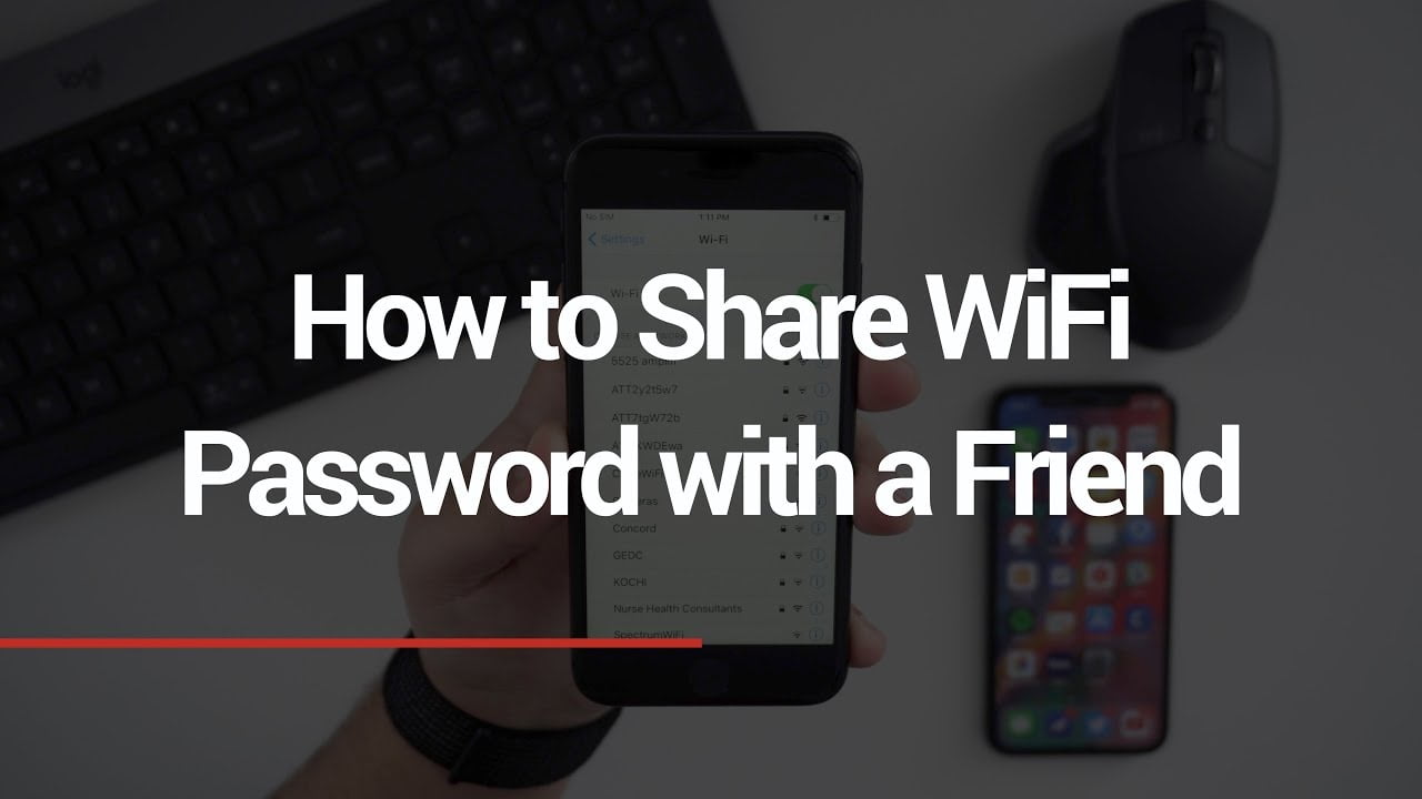 How to create a QR code on iPhone to share your Wi-Fi network without revealing your passcode