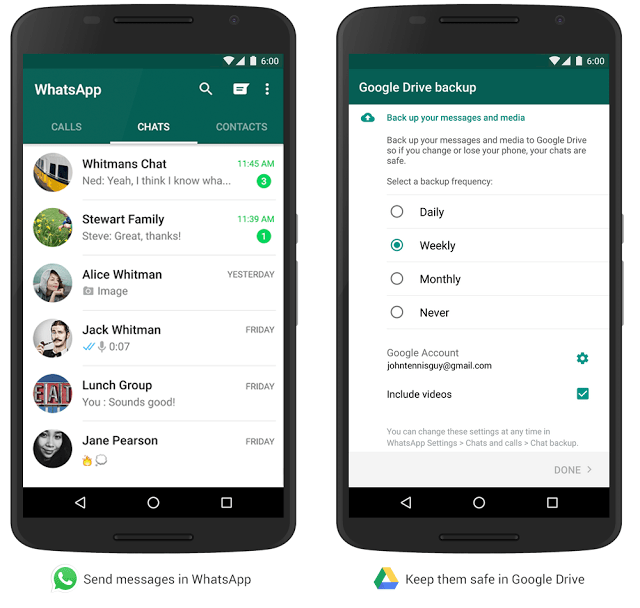 How to Differentiate Between WhatsApp's Backup of Your Messages and iOS Backup