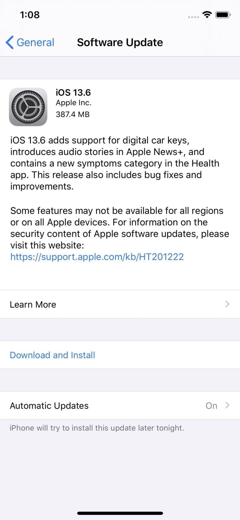 How to download and update your iPhone, all news and changes