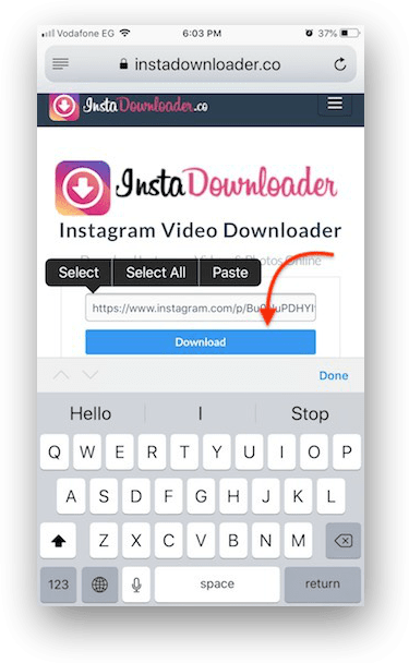 How to download Instagram videos to your iPhone or iPad for free