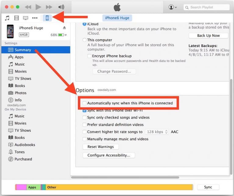 How to enable automatic synchronization of your applications with iCloud