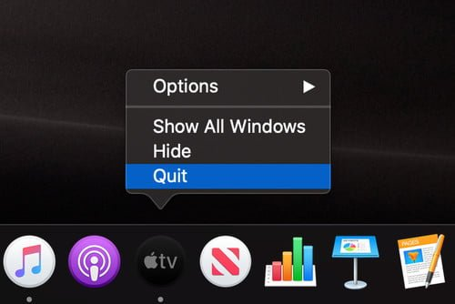 How to quickly close all open applications in Mac OS X