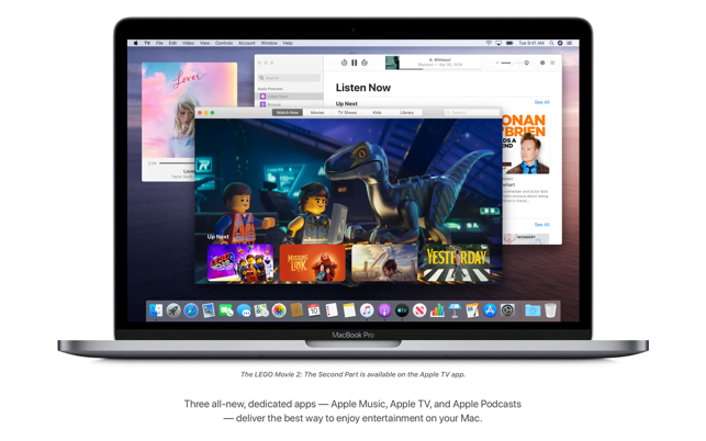 How to set age restrictions on the TV and Music app on our Mac
