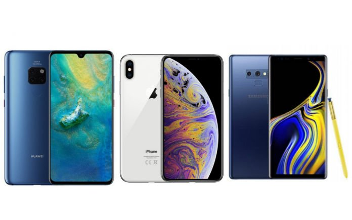 Huawei uses iPhone XS notch to promote his new Mate 20