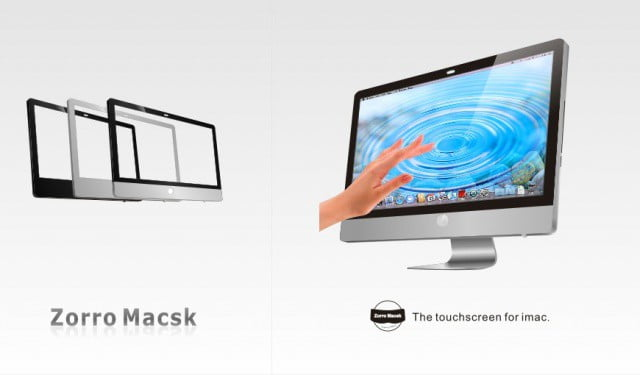 iDesk, that's what an Apple multi-touch desktop