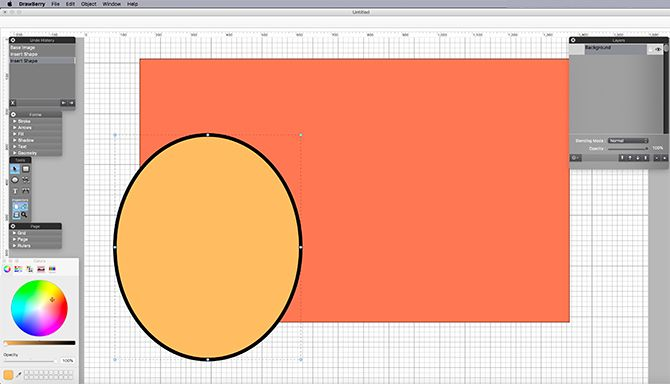 iDraw, another vector drawing application dedicated to the unskilled user