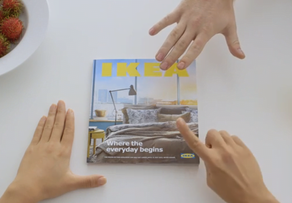 IKEA parodies Apple with the announcement of its new 2015 catalogue