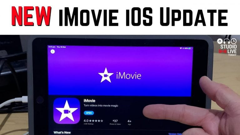 iMovie and Clips are updated and now support iOS 13 Dark Mode