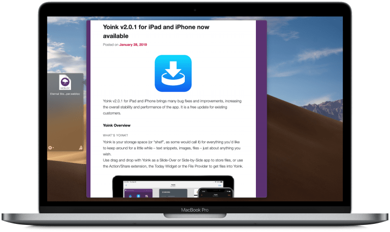 Improved Drag and Drop in App Store