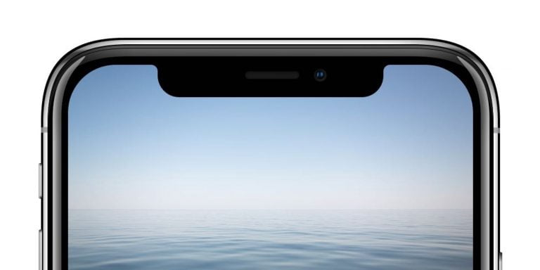 In this concept of iPhone there are no notch or cameras that stand out