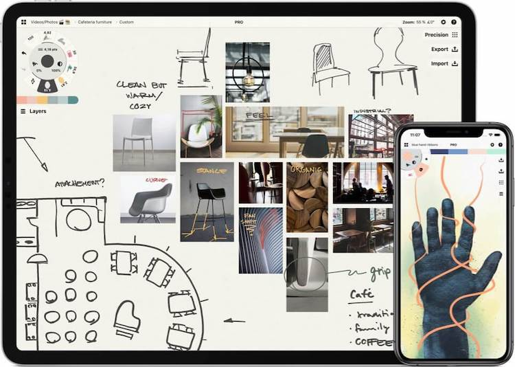 Inspire Pro for iPad, a powerful design application on sale for a limited time