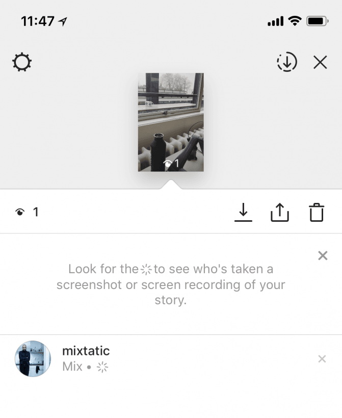 Instagram will alert you when your stories are screened