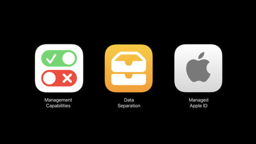 integrated microphones, reservations and customer service with Apple