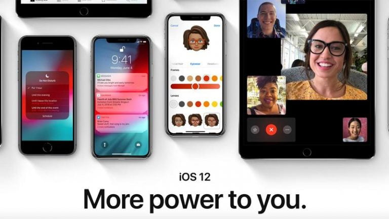 iOS 12 is in 90% of the devices launched in the last 4 years