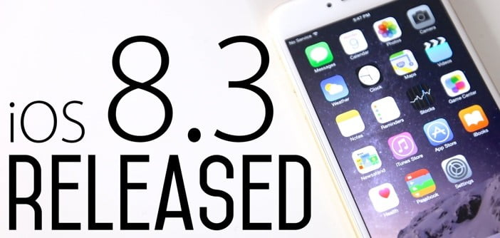 iOS 8.3 now available, new emojis, improvements and bug fixes