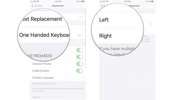 iOS evolves into the one-handed iPhone keyboard
