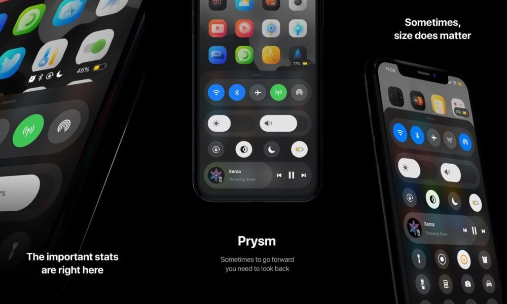 iOS from scratch: Control Center