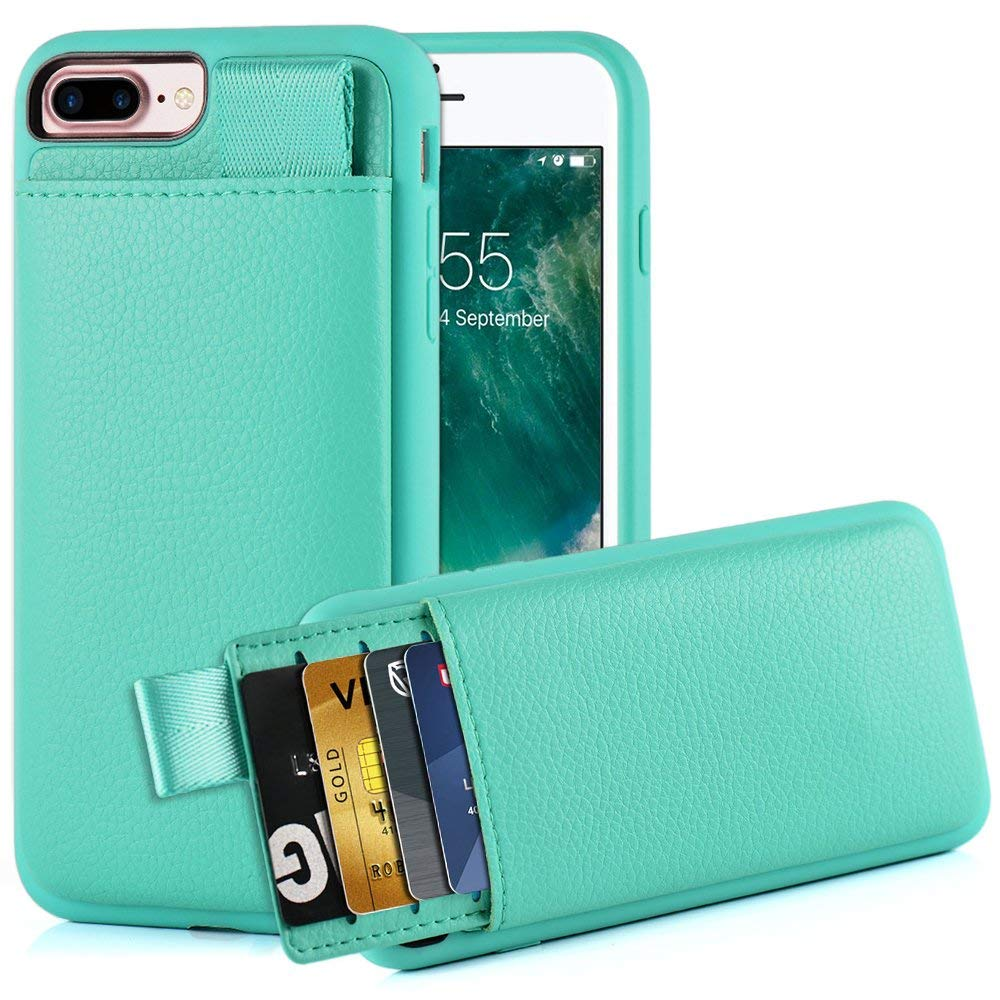 iPhone and credit card case