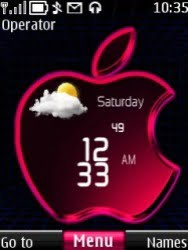 iPhone theme for the Nokia S40