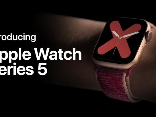 is in the new Apple Watch campaign