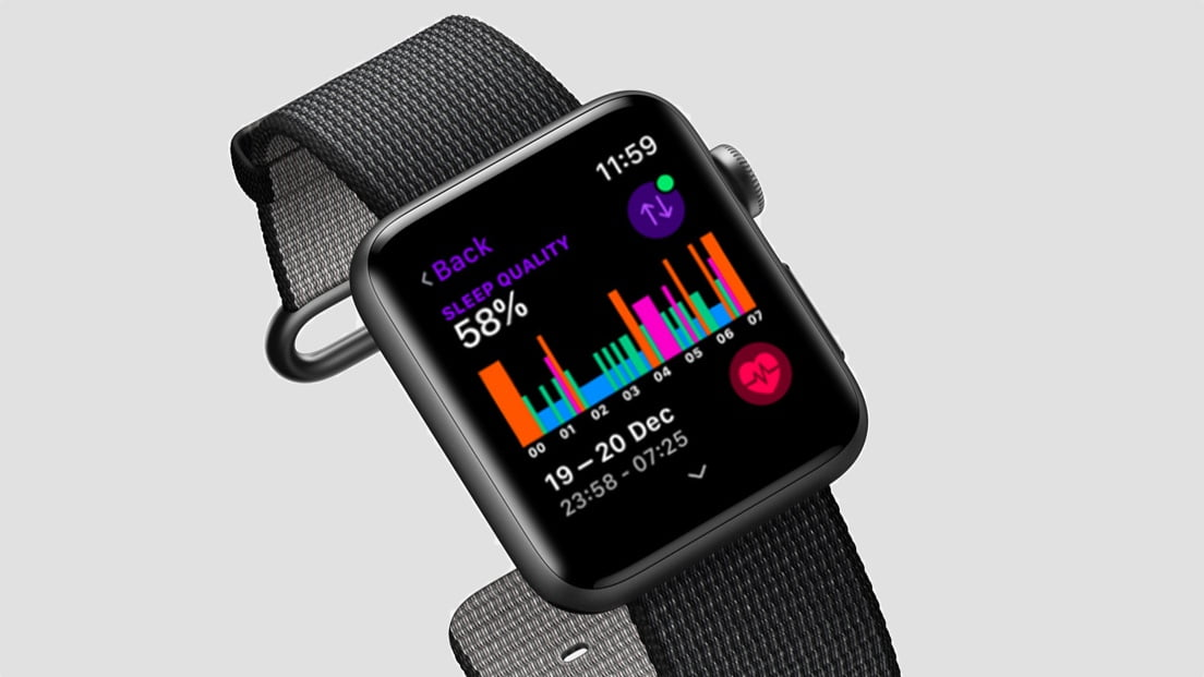 is not a native app, it has no place in watchOS