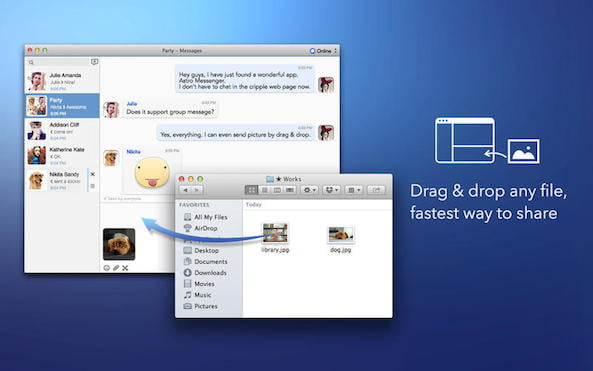 Is this the official Facebook Messenger for Mac client?