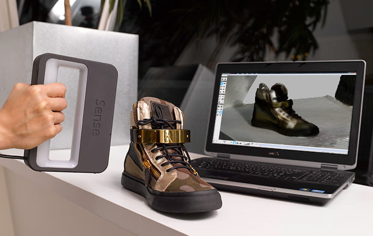 iSense, a Portable 3D Scanner for iPad and iPad Mini
