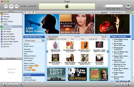 iTunes 9, Apple debuts the new iTunes in style