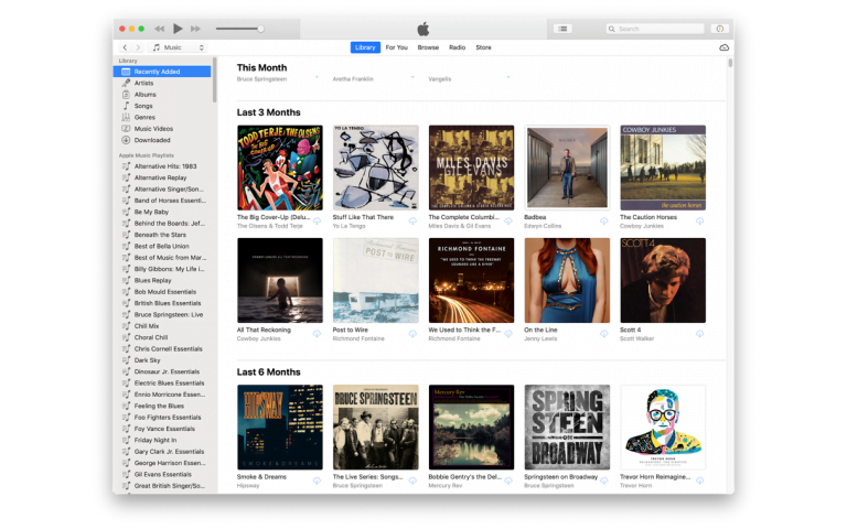 iTunes and QuickTime don't disappear in Mojave MacOS, but they do