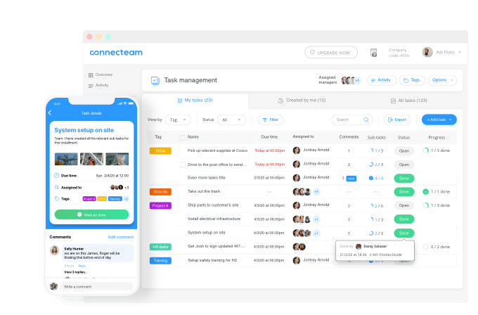 let the app itself take care of scheduling your tasks