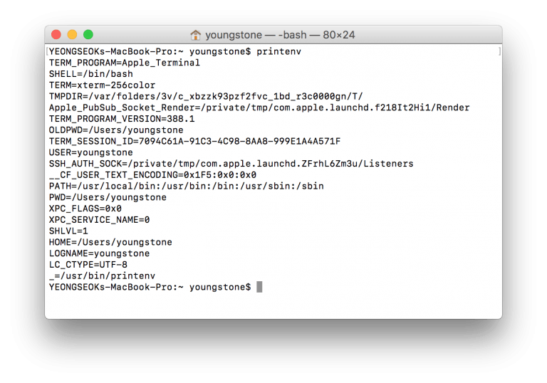 List of interesting commands for OS X