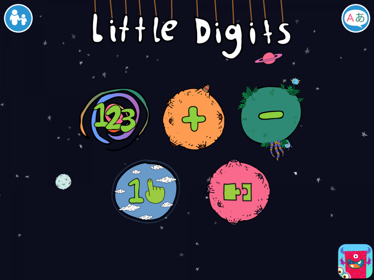 Little Digits, learning to count on the iPad