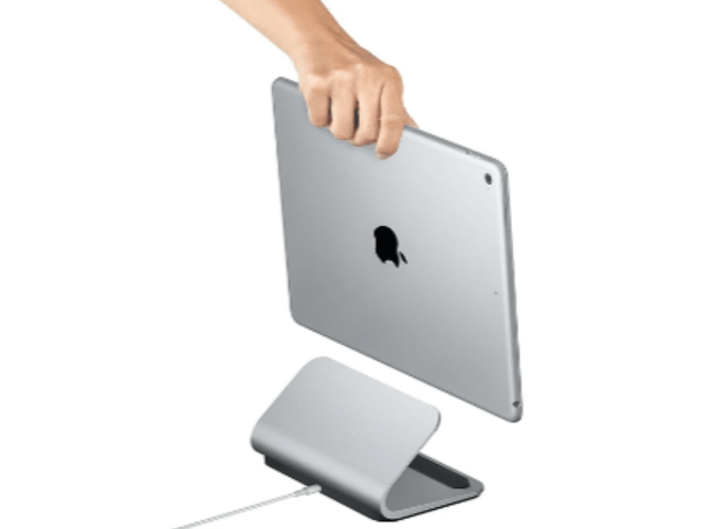 Logitech has launched an iPad charging cradle that uses the Smart Connector