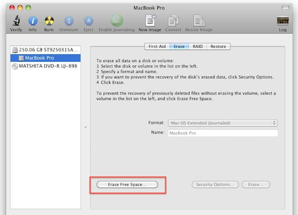 Mac OS X 10.7 Lion adds TRIM support for SSDs
