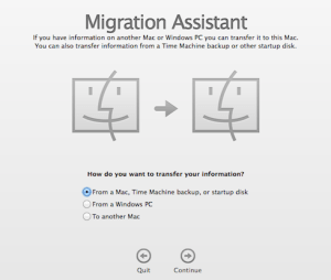 Migration Assistant, the easiest way to transfer information from one Mac to another