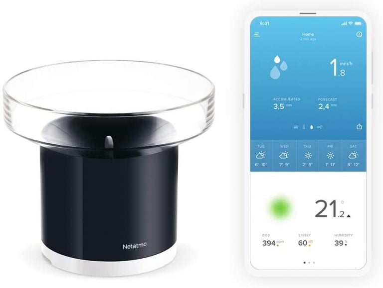Netatmo, get detailed information about the weather in your city (and home) from your iPhone