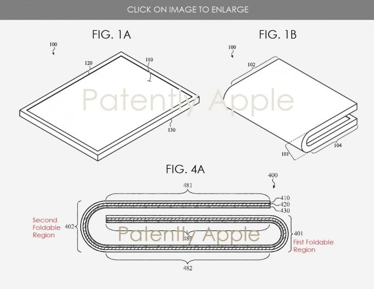 New Apple patent brings more clues about a possible folding iPhone