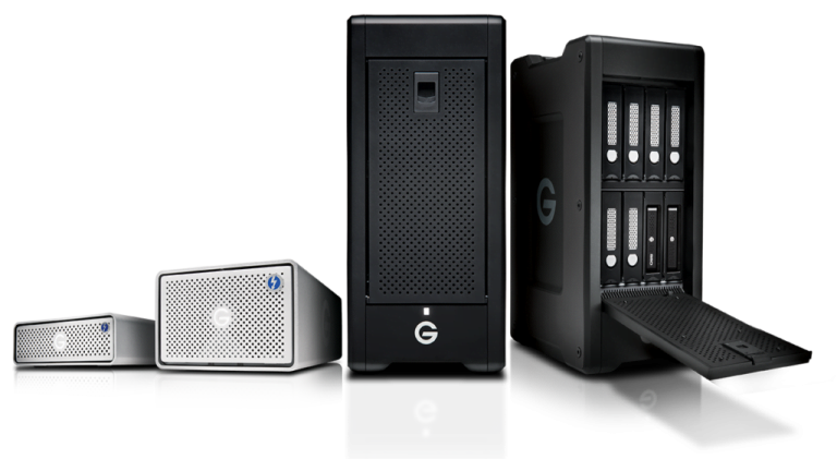 New G Raid and G Speed, professional storage from G Technology