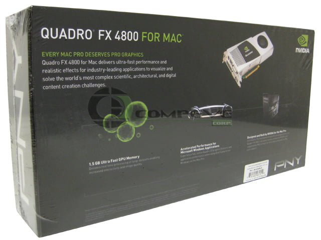 New Nvidia Quadro FX 4800 for Mac, high performance for professionals