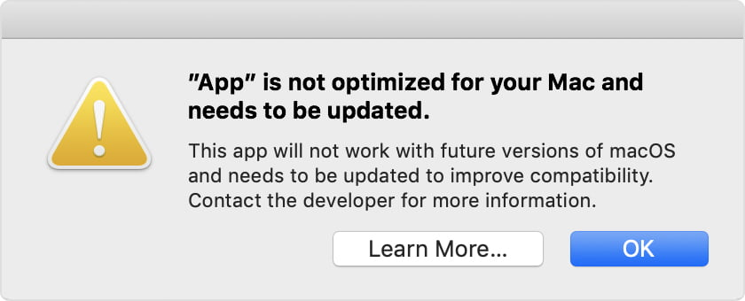new version of the application for macOS